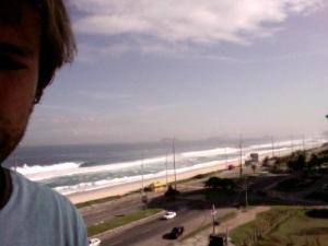 Praia em Barra